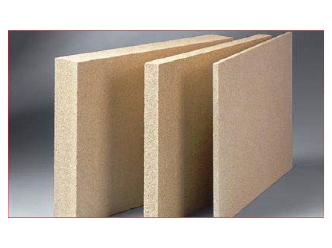 Žáruvzdorná vermikulitová deska 1000x620x25 mm