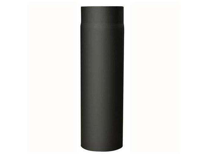 Kouřovod 150/500 mm tl. 2 mm  černý