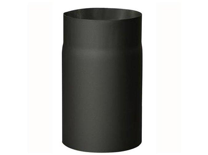 Kouřovod černý 180/250mm tl. 2mm