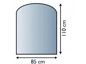 big 152508056164 lienbacher sklo pod kamna 8 mm lb 21029812