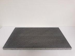 Lávový grilovací kámen 500 x 300 x 20 mm