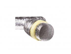 izolované hliníkové potrubí