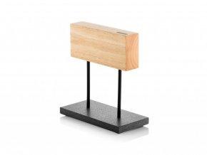 34170 6 sdv 624139 magneticky stojan noze s kamennym podstavcem dubove drevo style de vie kvalitni noze(1)