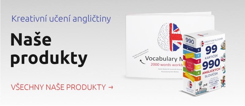 Naše produkty kreativní slovník