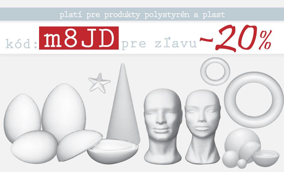 polystyrén -20%