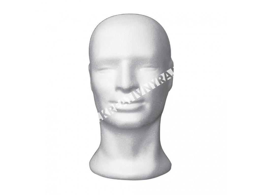 """polystyrénová hlava """"MUŽ"""""""