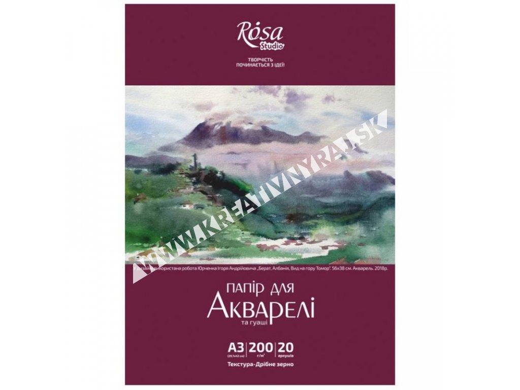 akvarelový blok ROSA Studio