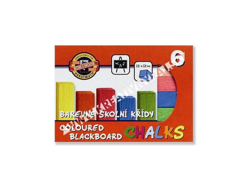krieda školská farebná set