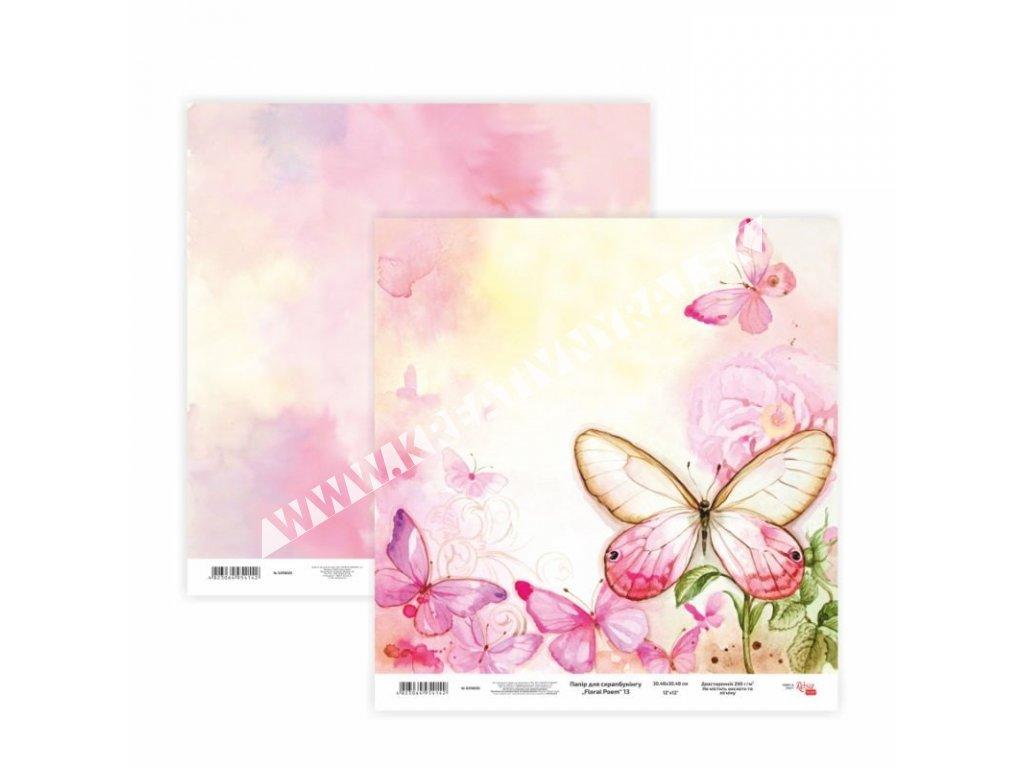 "scrappapier ""floral poem 13"""