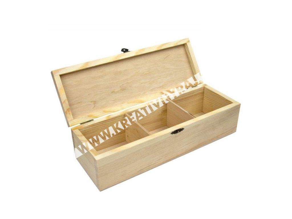 box so zámkom 3 sekcie