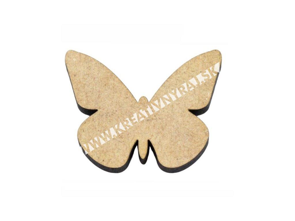 """ozdoba MDF """"motýľ 1"""""""
