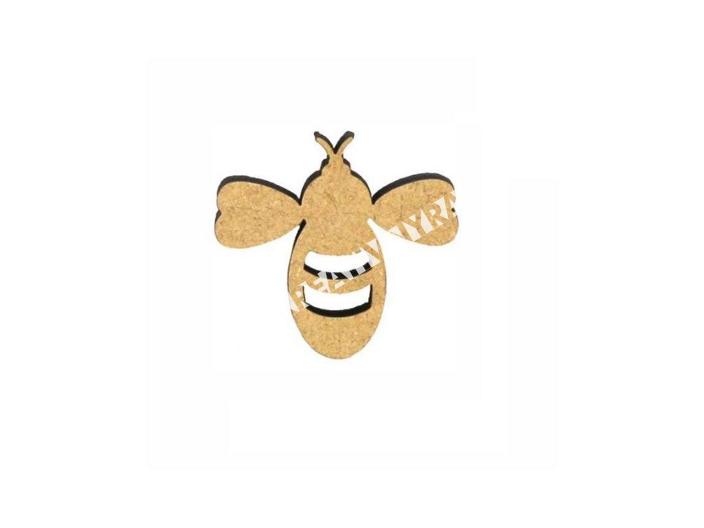 "ozdoba MDF ""včela"""