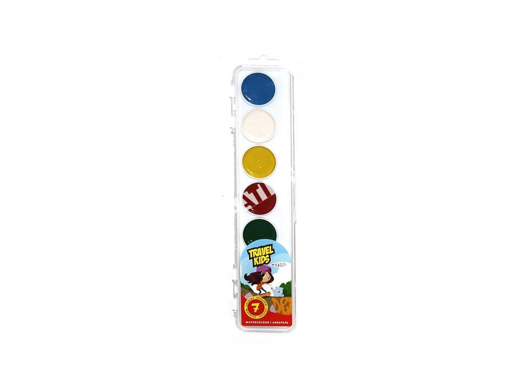 vodové farby kruh