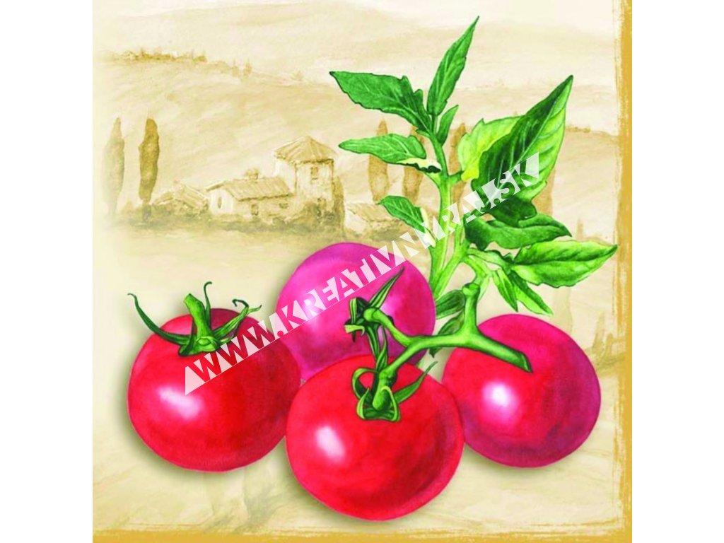 "servítka ""tomatos terra"""