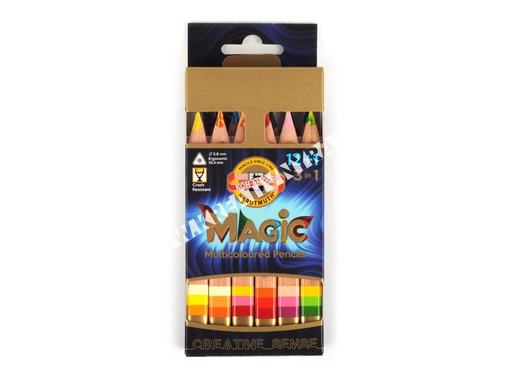 Pastelky Magic natural 12 ks