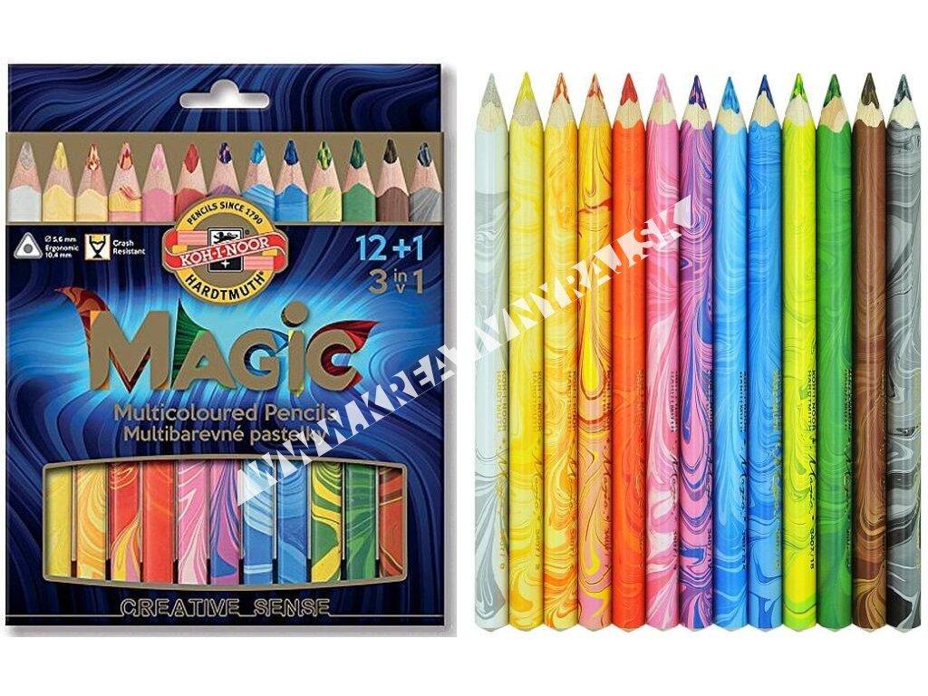 Pastelky Magic 12 ks
