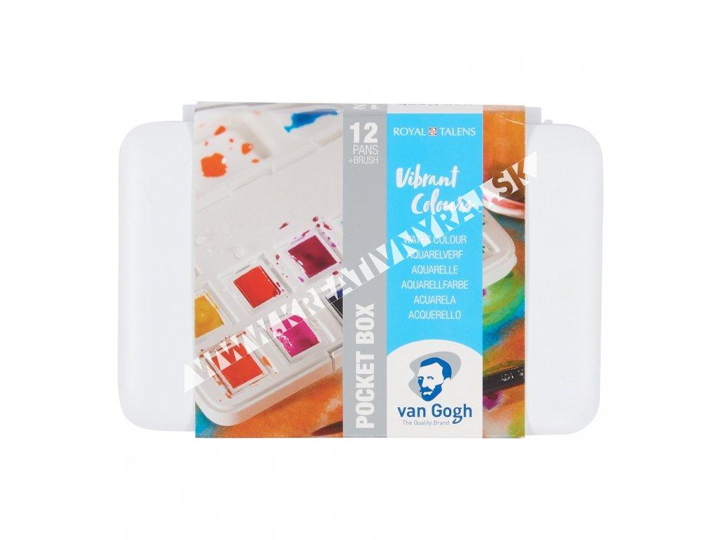 akvarelový set Van Gogh 12 farieb Vibrant Colours