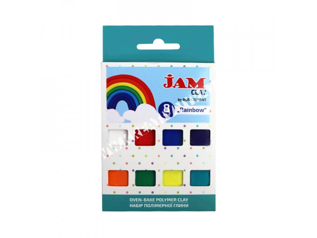 polymérová hmota JAM CLAY - Rainbow