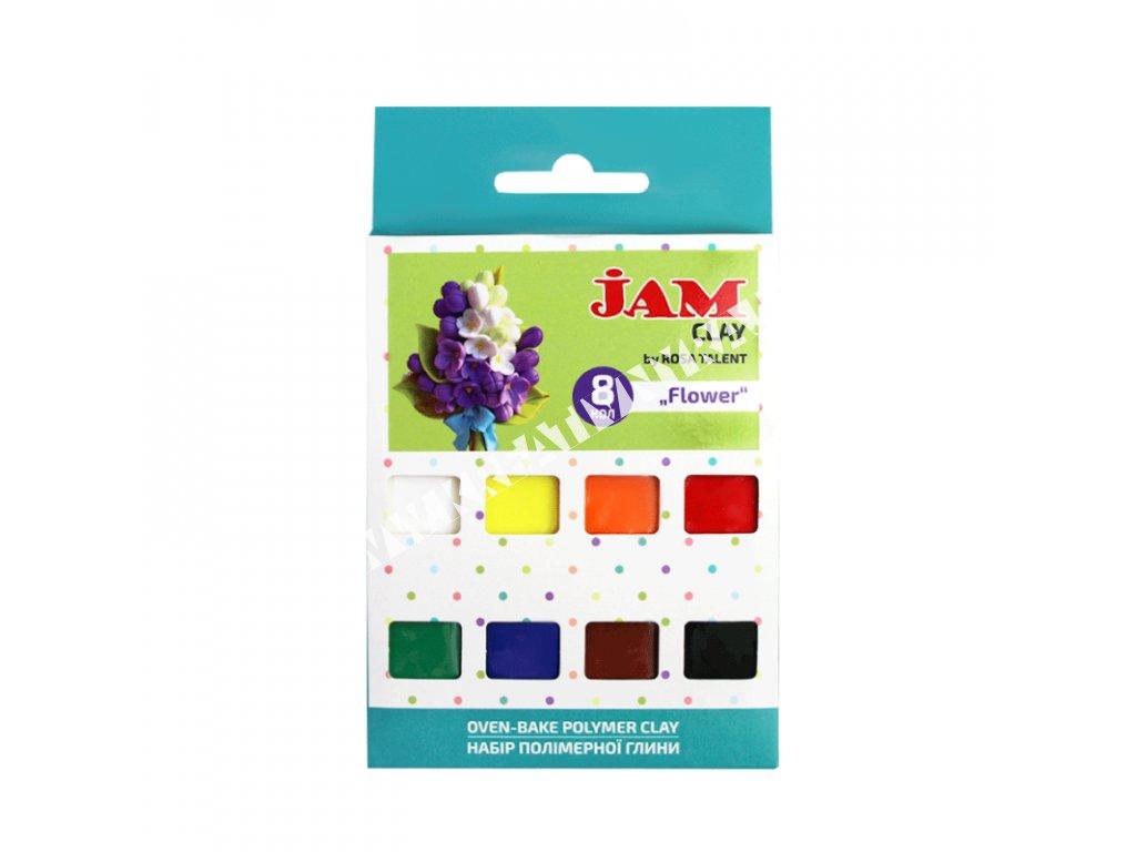 polymérová hmota JAM CLAY - Flower