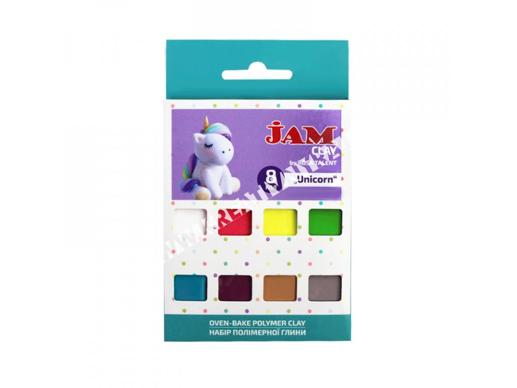 polymérová hmota JAM CLAY - Unicorn