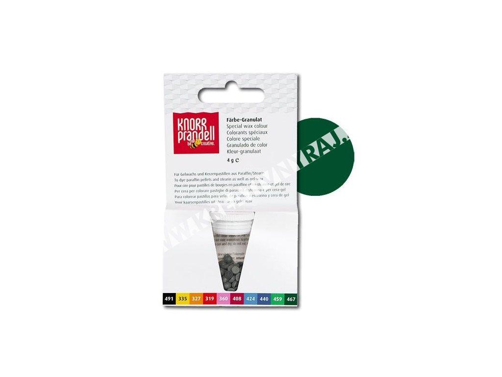 farba do vosku Knorr Prandell zelená tmavá