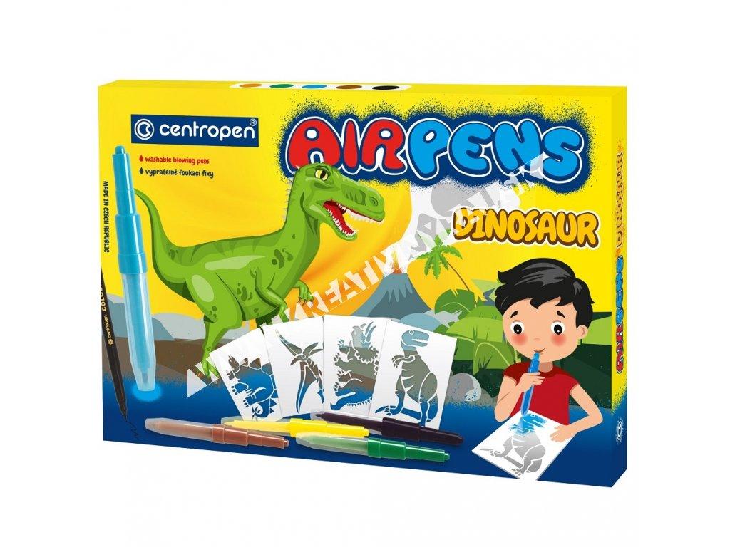 fúkacie fixy AIRPENS dinosaur