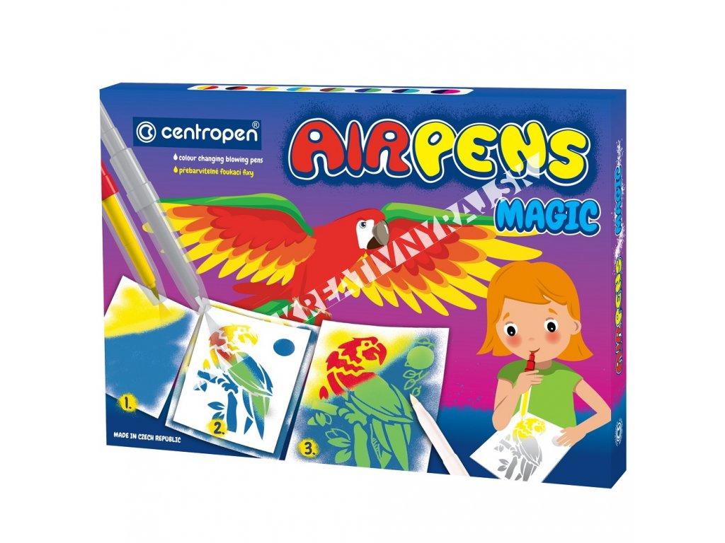 fúkacie fixy AIRPENS magic 8+3
