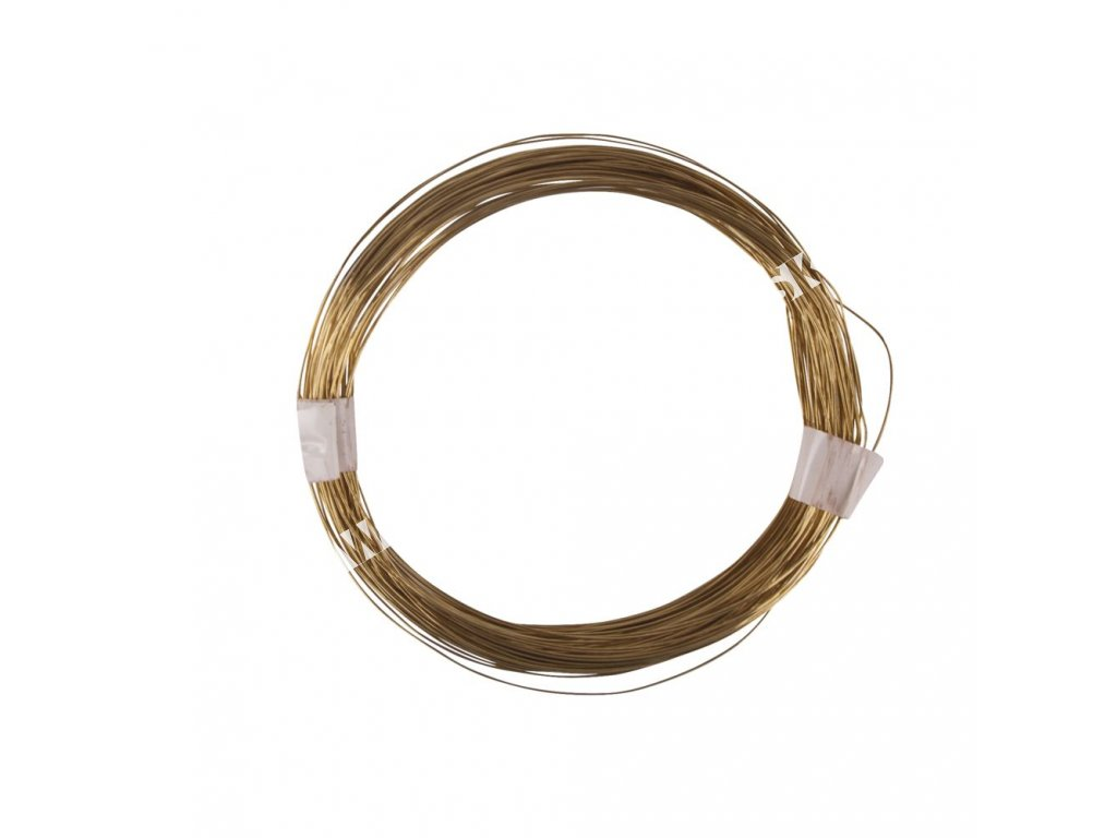 bižu drôt zlatý
