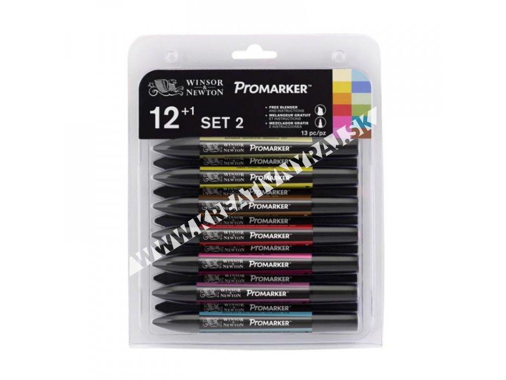 promarker W&N 12+1 set II