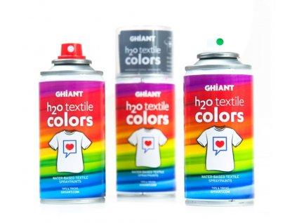 farba na textil v spreji