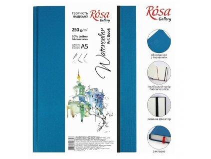 akvarelový blok ROSA Gallery 50% bavlna