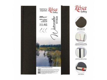 akvarelový blok ROSA Gallery 100% bavlna