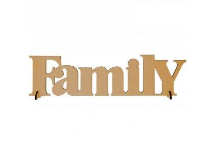 """ozdoba MDF """"family"""""""