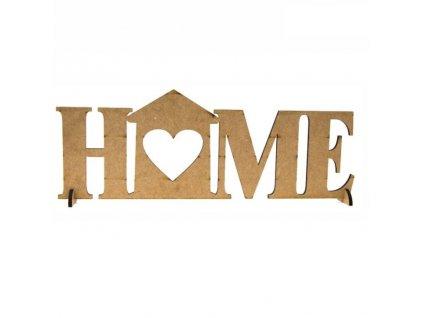 """ozdoba MDF """"home"""""""