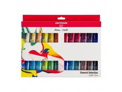 akrylové farby set Amsterdam