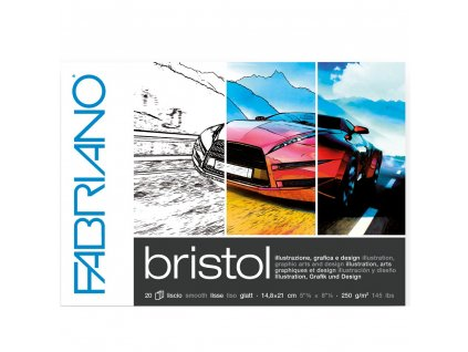 blok skicovací FABRIANO Bristol