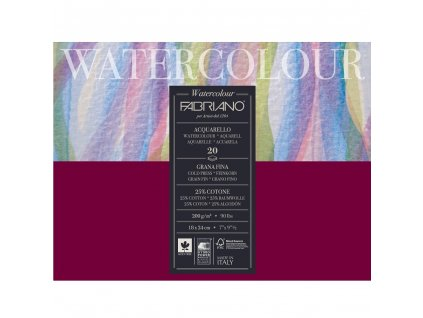 akvarelový blok Fabriano WATERCOLOUR