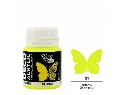 "akrylová farba ROSA Talent 20 ml ""fluo"""