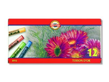 Suchý pastel TOISON DOR 12 ks