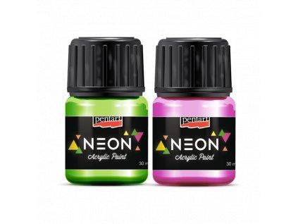 Acrylic paint Neon