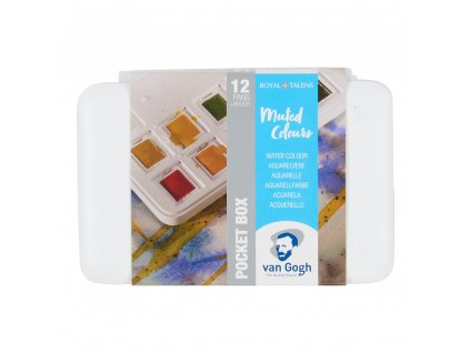 akvarelový set Van Gogh 12 farieb Muted Colours