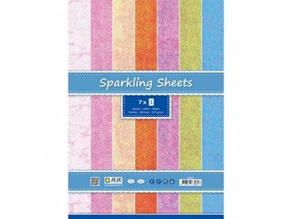 papier kreatívny Sparkling Sheets