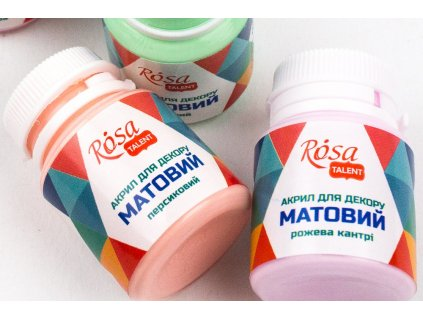 """akrylová farba ROSA Talent 20 ml """"matná"""""""