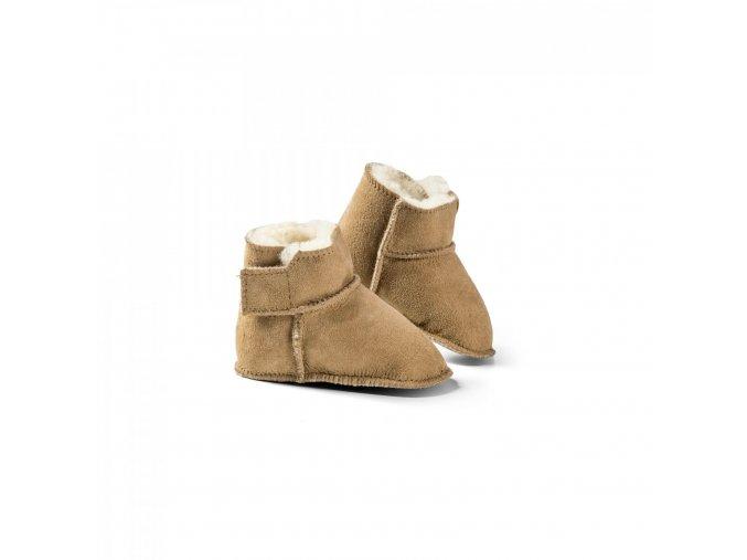 Dětské botičky - KUSCHL šedé