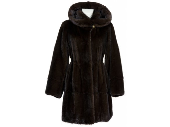 Dámský kožešinový kabát