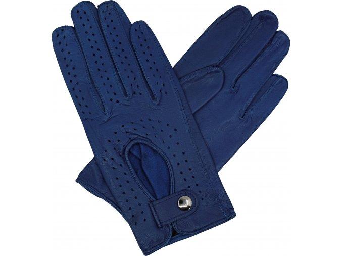 dámské řidičské rukavice modrá