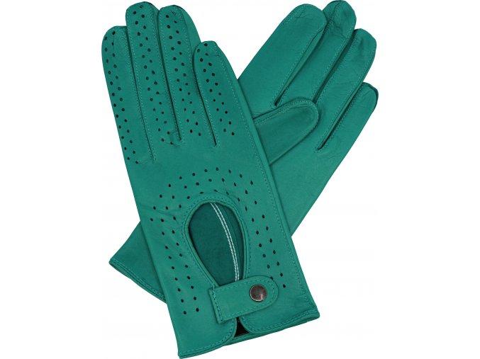dámské řidičské rukavice azuro