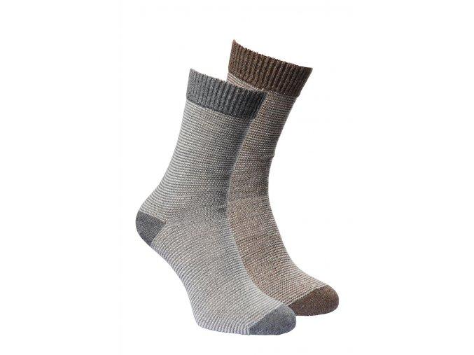 Ponožky alpaka - LINEA