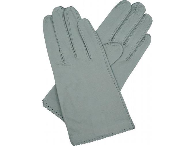 dámské rukavice bezpodšívkové aluminium výsek