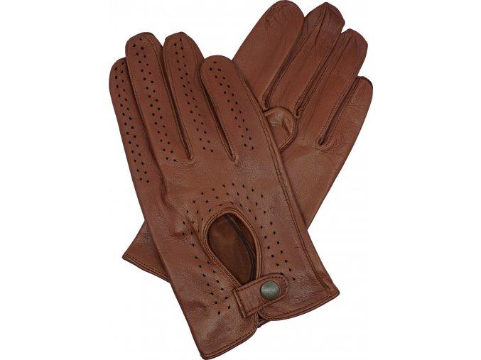 pánské kožené rukavice řidičské hnědéjpg